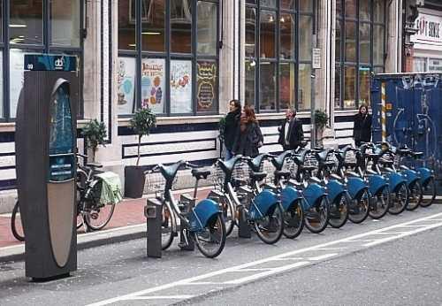 Rent-a-Bike Scheme in Dublin