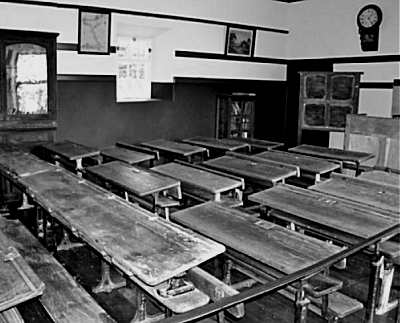 An Old Irish Classroom