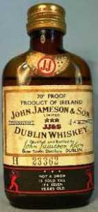 Small Whiskey Bottle