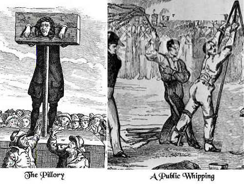 The Pillory - A Public Whipping