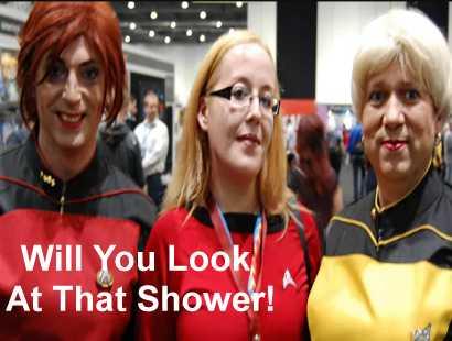 Trekkies - Some Shower!