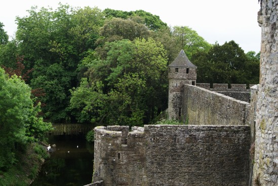 Cahir Castle east side from well tower - Public Domain Photograph, Free Stock Photo Image, Free Picture