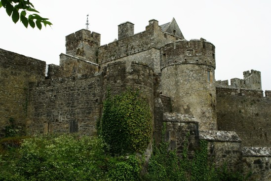 Cahir Castle in Tipperary - Public Domain Photograph, Free Stock Photo Image, Free Picture