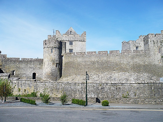 Cahir Castle wide view - Public Domain Photograph, Free Stock Photo Image, Free Picture