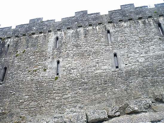 Cahir castle small windows - Public Domain Photograph