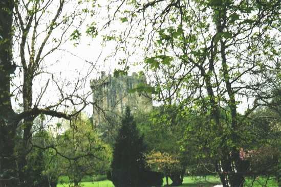 Castle scene through trees - Public Domain Photograph, Free Stock Photo Image, Free Picture
