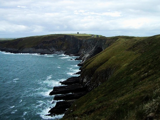 Cliffs at Old Head - Public Domain Photograph, Free Stock Photo Image, Free Picture