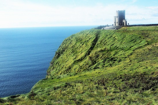 Cliffs of Moher castle - Public Domain Photograph, Free Stock Photo Image, Free Picture