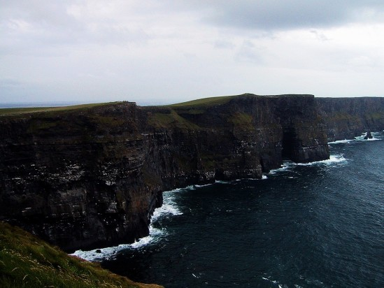 Cliffs of Moher dark - Public Domain Photograph, Free Stock Photo Image, Free Picture