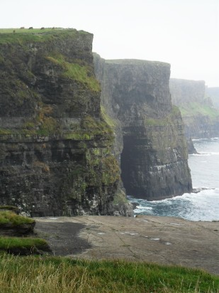 Cliffs of Moher misty - Public Domain Photograph, Free Stock Photo Image, Free Picture