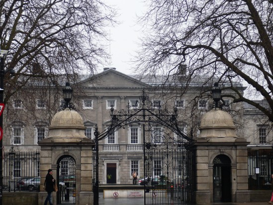 Dail Eireann Dublin - Public Domain Photograph, Free Stock Photo Image, Free Picture