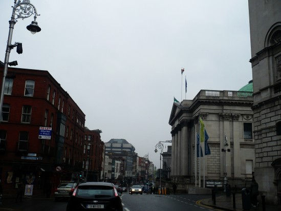 Dame Street - Public Domain Photograph, Free Stock Photo Image, Free Picture