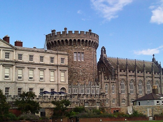Dublin Castle - Public Domain Photograph