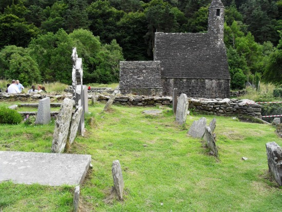 Glenadalough church - Public Domain Photograph, Free Stock Photo Image, Free Picture
