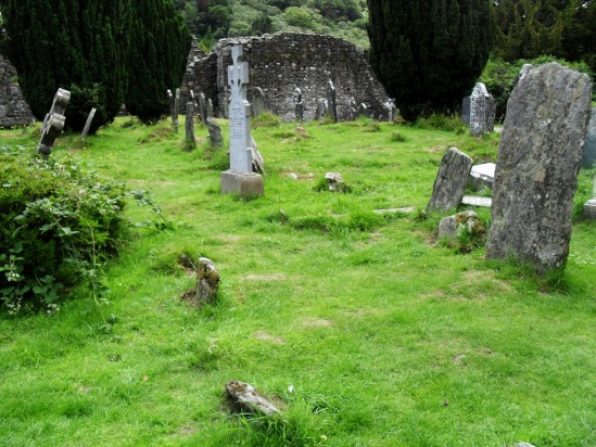 Glendalough cemetery - Public Domain Photograph, Free Stock Photo Image, Free Picture