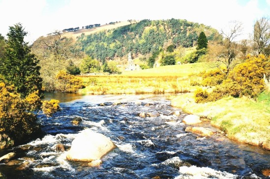 Glendalough scene - Public Domain Photograph