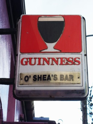 Guinness pub sign - Public Domain Photograph