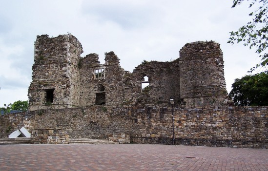 Hamilton Castle - Public Domain Photograph, Free Stock Photo Image, Free Picture