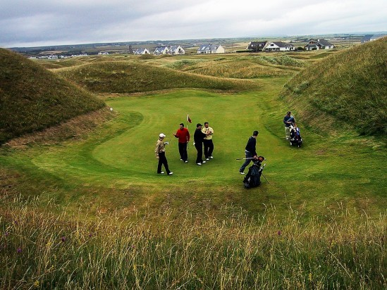 Irish Golfers - Public Domain Photograph, Free Stock Photo Image, Free Picture