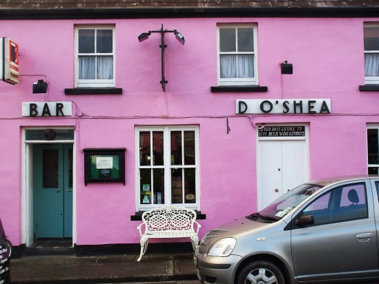 Irish bar pink - Public Domain Photograph, Free Stock Photo Image, Free Picture