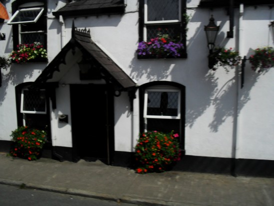 Irish cottage front - Public Domain Photograph, Free Stock Photo Image, Free Picture