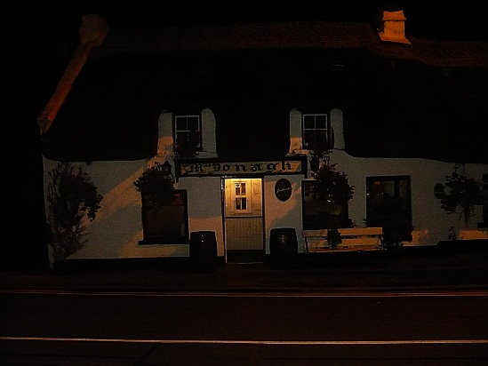 Irish pub at night - Public Domain Photograph, Free Stock Photo Image, Free Picture
