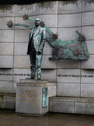 James Connolly statue - Public Domain Photograph, Free Stock Photo Image, Free Picture