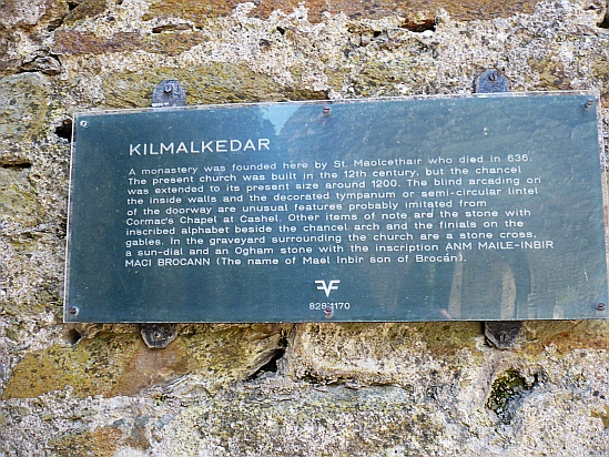 Kilmalkedar - Public Domain Photograph, Free Stock Photo Image, Free Picture