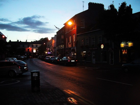 Kinsale at Night - Public Domain Photograph, Free Stock Photo Image, Free Picture
