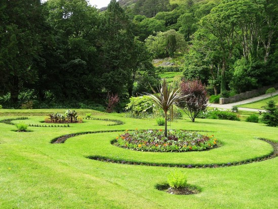 Kylemore Abbey Gardens - Public Domain Photograph, Free Stock Photo Image, Free Picture