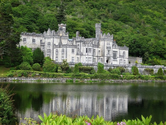 Kylemore Abbey - Public Domain Photograph