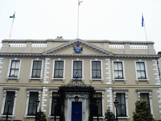 Mansion House Dublin - Public Domain Photograph, Free Stock Photo Image, Free Picture