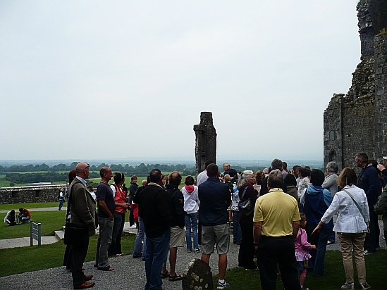 People at the Rock of Cashel - Public Domain Photograph, Free Stock Photo Image, Free Picture