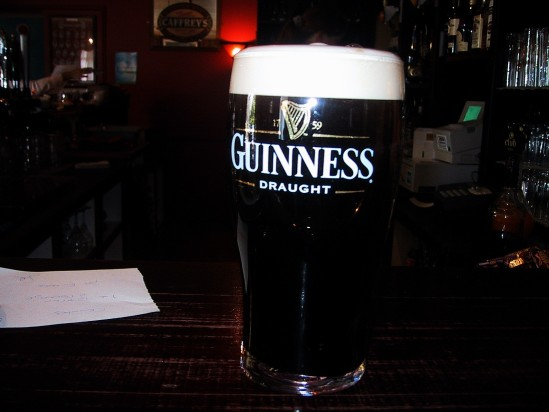 Pint of Guinness - Public Domain Photograph, Free Stock Photo Image, Free Picture