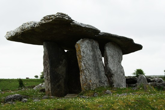 Poulnabrone portal tomb - Public Domain Photograph, Free Stock Photo Image, Free Picture