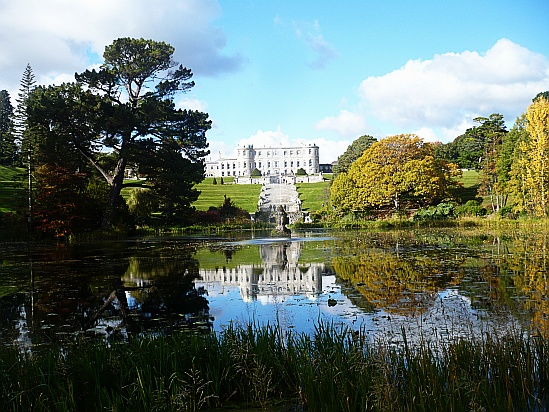 Powerscourt House scene - Public Domain Photograph, Free Stock Photo Image, Free Picture