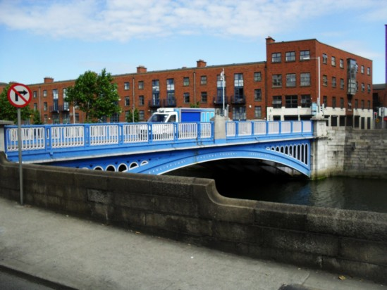 Blue bridge - Public Domain Photograph