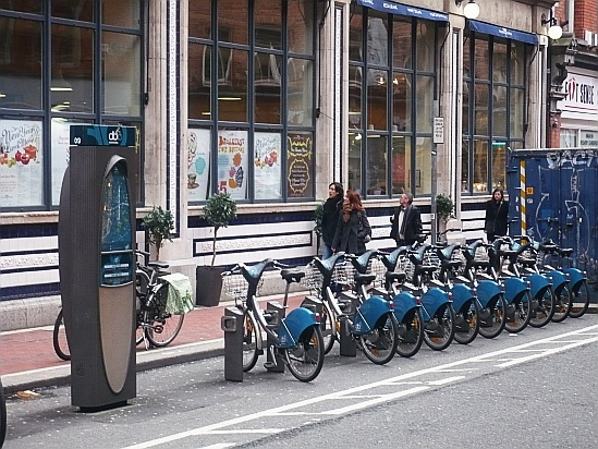 Borrow a bike scheme - Public Domain Photograph, Free Stock Photo Image, Free Picture
