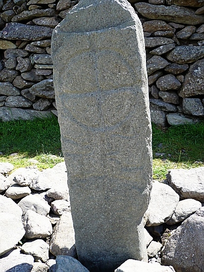 Celtic stone monument - Public Domain Photograph, Free Stock Photo Image, Free Picture