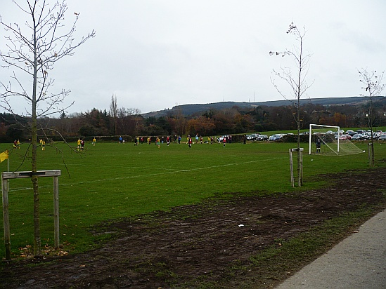 Football pitch - Public Domain Photograph