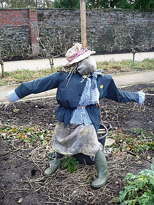 Garden scarecrow - Public Domain Photograph, Free Stock Photo Image, Free Picture