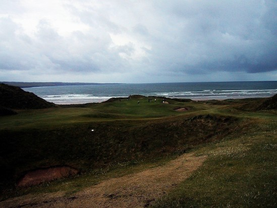 Golf links Lahinch - Public Domain Photograph, Free Stock Photo Image, Free Picture