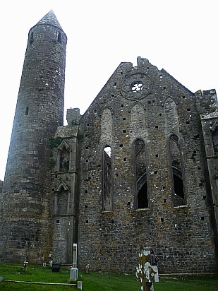 Rock of cashel tower - Public Domain Photograph, Free Stock Photo Image, Free Picture