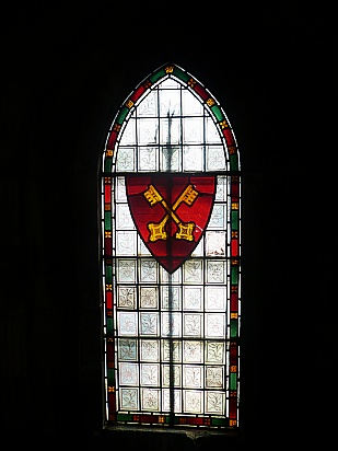 Stained glass family crest - Public Domain Photograph, Free Stock Photo Image, Free Picture
