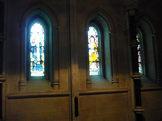 Stained glass windows - Public Domain Photograph, Free Stock Photo Image, Free Picture