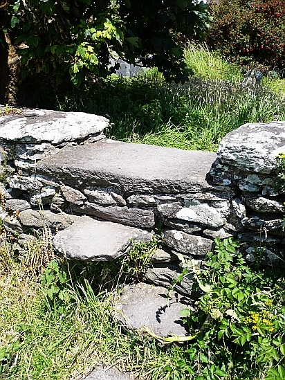 Stone stepping stone - Public Domain Photograph, Free Stock Photo Image, Free Picture